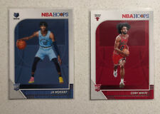 2019-20 NBA Hoops Ja Morant Coby White Rookie Cards Lot