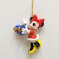 Disney MINNIE MOUSE Holiday Tree Ornament 1996