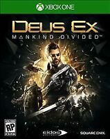 Deus Ex: Mankind Divided -- Day One Edition (Microsoft Xbox One, 2016) NEW