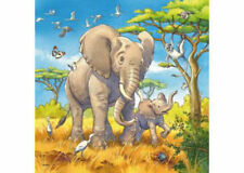 Ravensburger Wild Animals 3 x 49 Piece Jigsaw Puzzles RB08003-8