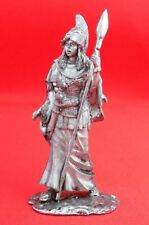 Tin Figurine Soldier Toy 54 mm Minerva  the goddess of wisdom and war Awesome
