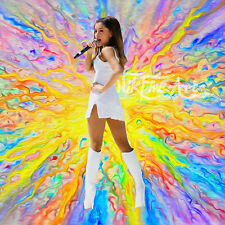 ORIGINAL PAINTING NIK TOD LARGE SIGNED RARE ART COLORFUL COLLECTOR ARIANA GRANDE