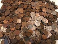 Three Indian Head Cents Penny Original Condition Authentic Random year FAIR CULL