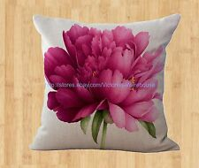peony flower cushion cover decorative pillow covers for sofa and throws cases