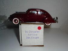 RARE Durham Classics Canada 1 43 CHRYSLER AIRFLOW 2dr coupe  brooklin