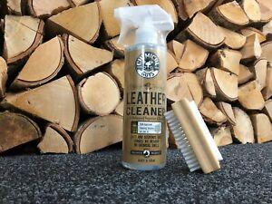 Chemical Guys Leather Cleaner 16oz + brush kit