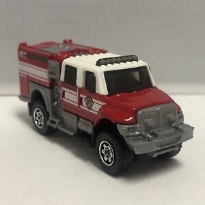 Matchbox Red 2007 International Workstar BrushFire Truck 1:64 Diecast Mattel