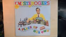 Columbia Records MISTER ROGERS A PLACE OF OUR OWN 33rpm 1972