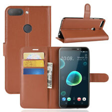 For HTC Desire 12/12+,  Flip Leather Wallet Stand Magnetic Skin Case Full Cover