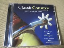 "COFFRET 2 CD ""CLASSIC COUNTRY"" Lynn ANDERSON, Kenny ROGERS, Patsy CLINE, ..."