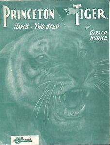 Princeton Tiger - Football Sheet Music