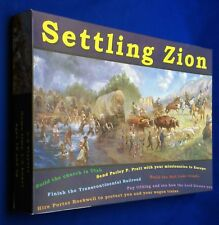 2004 Settling Zion Salt Lake City Utah Pioneer Board Game Inspiration Mormon LDS