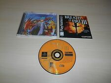 Breath Of Fire III 3 Complete Playstation 1 PS1 Game CIB Black Label