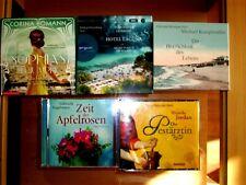 Hörbücher 5 Stück Beletristik
