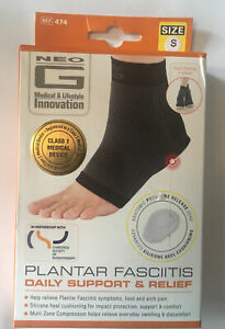 NeoG Plantar Fasciitis Daily Support & Relief * SMALL * Free P&P