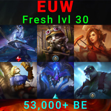 EUW League of Legends Account LoL Acc Cosmic Lux Badger Teemo Blackfrost Alistar