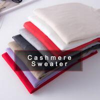 Women's Slim Knitted Turtleneck Cashmere Jumper Pullover Sweater Soft elastici№s