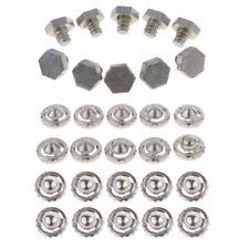 Satz von 10pcs Metallspitzen Teile + 20pcs Schrauben Schrauben Beyblade Gyro