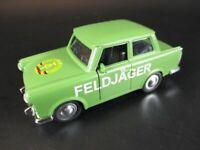 Trabi Feldjäger DDR Modellauto diecast Souvenir Germany,NEU,1:30