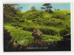 The Hobbit The Battle of the Five Armies - Base Card 84 Canvas Parallel 37/75
