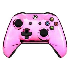 Custom Xbox One Controller Pink Chrome paint Brand New