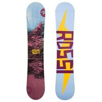 Rossignol Mith Damen+Mith Bindings Snowboard 139 cm Blue Purple