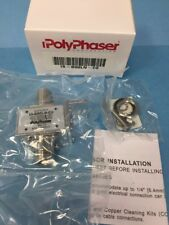 Lot of 50 Is-B50Ln-C2 PolyPhaser Coaxial Rf Surge Protector - Bulkhead Arrestor