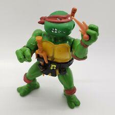 Vintage 1988 Raphael Soft Head Ninja Turtles TMNT Figure with Accessories