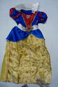 Disney Princess Snow White Costume Toddler 3-4 Long skirt with Glitter