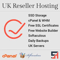 UK Reseller Hosting - Unlimited Everything, cPanel & WHM, Free SSL's + More!