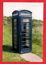 Photo - Blue Telephone Box - Manx Telecom K6 Kiosk - Cregneash: Isle of Man 1998