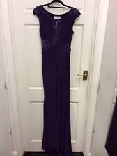 Tiffanys Elle ball gown prom Dress Purple size 0 BNWT