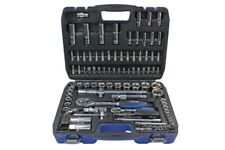 "US Pro by BERGEN Tools 94pc 1/4"" & 1/2""dr Socket Set, Sockets Ratchet  NEW 2078"