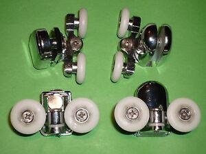 Shower Door Rollers, Wheels, Runners. 4 x SR25