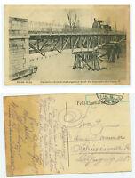 Alte Ansichtskarte Postkarte Feldpost 1. Weltkrieg Alsne 1915