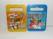 NEW SEALED SET OF 2 HI-5 (HIGH FIVE) DVD'S -- MOVE YOUR BODY & ACTION HEROES -