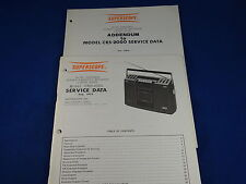 Superscope Model CRS-2000 Service Manual