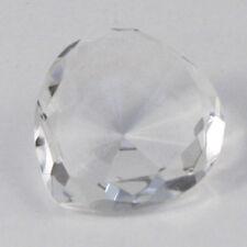 Diamond Heart crystal wedding table decoration 4cm