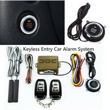 Car Alarm Start Security System Engine Starter Keyless Entry Push Button Remote