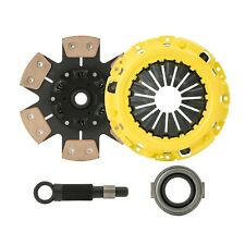 CLUTCHXPERTS STAGE 4 SPRUNG CLUTCH+SLAVE KIT fits 00-04 FORD FOCUS SE ZX3 ZX5