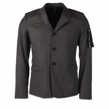CHRISTIAN DIOR Jacket Grey Wool Blend Pocket Sleeve Size 50 RRP £1555 PA 670