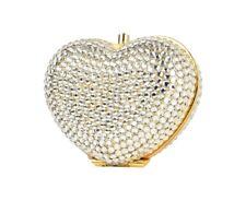Judith Lieber Vintage Pillbox Heart 'n Soul Austrian Crystals