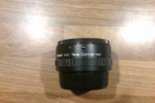 OFFERS PLEASE # #  VIVITAR MC TELECONVERTER 2X -24 INA RED LINED CASE
