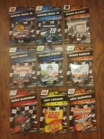 Lot of 9 NASCAR Authentics 2019 1/64 Multiple Drivers! Chase Elliott, and More.