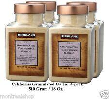 Kirkland Signature California Granulated Garlic  (4-pack)  -  FREE SHIPPING