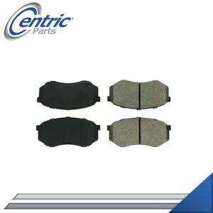FRONT SEMI-METALLIC BRAKE PADS LEFT & RIGHT SET FOR 1984-1986 PLYMOUTH CONQUEST