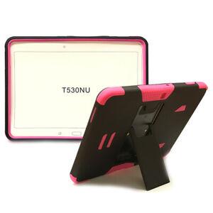 "Heavy Duty Hybrid Armor Case Cover for Samsung Galaxy Tab 4 10.1"" T530 Tablet"