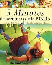 5 minutos de aventuras de la Biblia (Spanish Editi