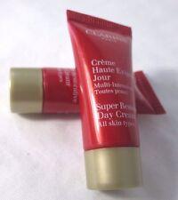Lot Of 2 Clarins Super Restorative Day Cream -  ~ 5 ml / .17 oz Each. ~