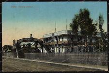 AK-Ägypten-Suez-Railway-Station-Bahnhof-Lare-Gare-